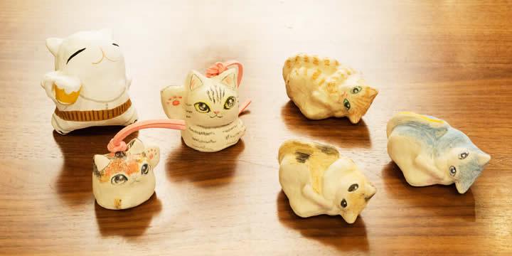 手作り『猫』土鈴